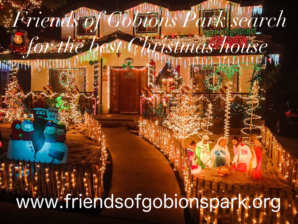 Search For Best Christmas Decorated House Friends Of Gobions Park